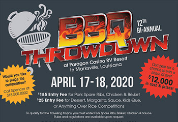 2020 Spring BBQ Throwdown