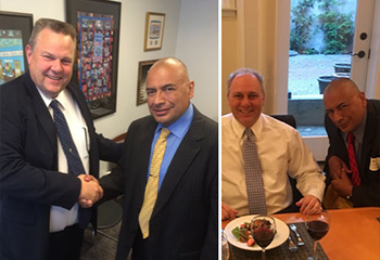 Meetings with Congressman Steve Scalise & Senator Jon Tester