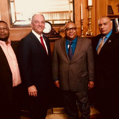 Meeting With Governor Edwards June 2018