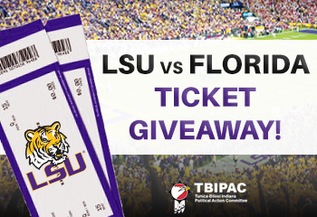 Buy A Raffle Ticket & You Could Win 2 Tickets to LSU vs. Florida!